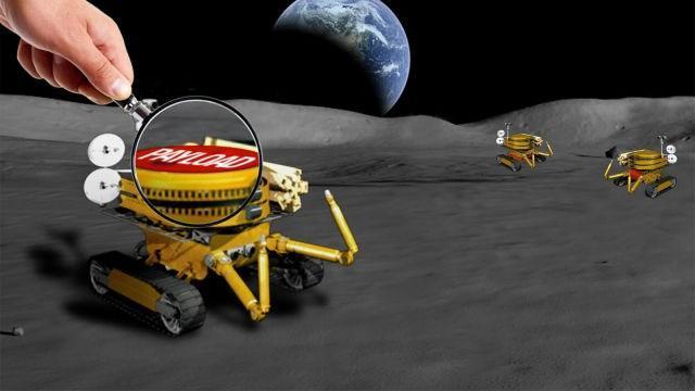 ناسا از طرح های مردم برای ساخت روبات های ماه نورد استفاده می کند