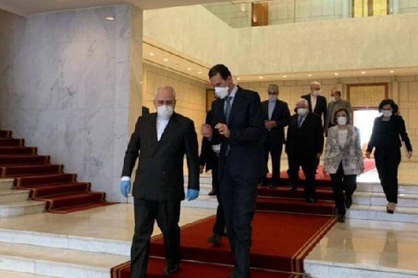 نگاه تحلیلی رسانه های عربی به اهداف سفر ظریف به سوریه