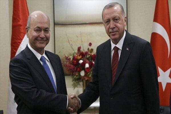 گفتگوی تلفنی اردوغان و صالح، مسائل منطقه ای محور مذاکرات