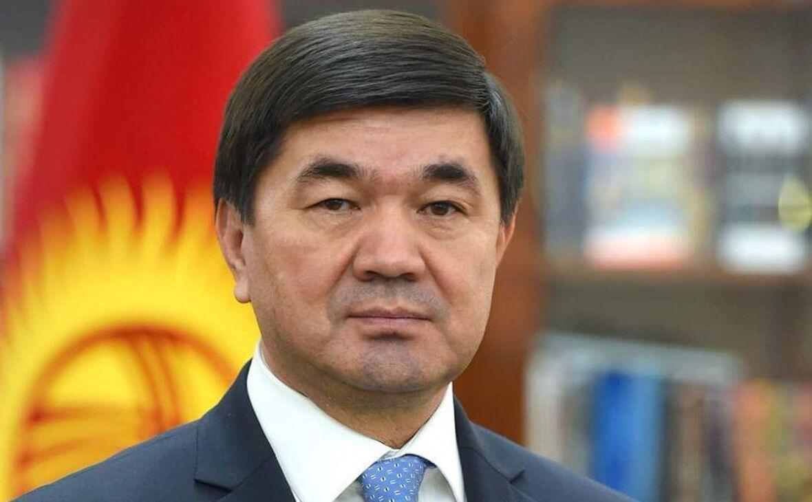 رییس جمهوری قرقیزستان استعفای نخست وزیر را پذیرفت