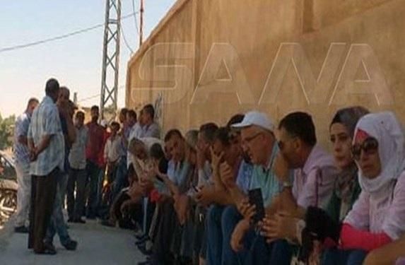 تحصن علیه شبه نظامیان وابسته به آمریکا در شرق سوریه